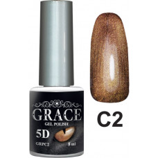 Гель-лак GRACE Cat Eye 5D №2 8 мл