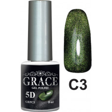 Гель-лак GRACE Cat Eye 5D №3 8 мл