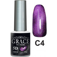 Гель-лак GRACE Cat Eye 5D №4 8 мл