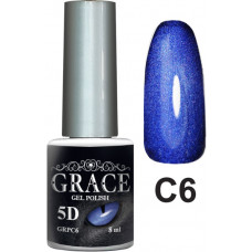 Гель-лак GRACE Cat Eye 5D №6 8 мл