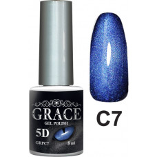 Гель-лак GRACE Cat Eye 5D №7 8 мл