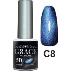 Гель-лак GRACE Cat Eye 5D №8 8 мл