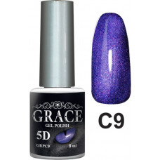 Гель-лак GRACE Cat Eye 5D №9 8 мл