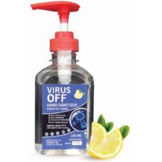 Антисептик для рук VirusOFF с дозатором, 250 мл