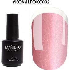 Komilfo KC Glitter Rubber French Base №KC002, 15 мл