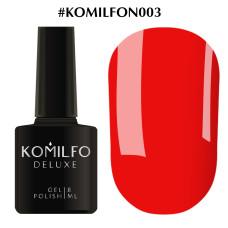 Гель-лак Komilfo Deluxe Series №N003, 8 мл