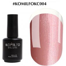 Komilfo KC Glitter Rubber French Base №KC004, 15 мл