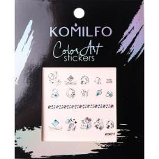 Komilfo Color Art stickers KCA-011