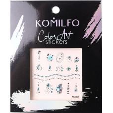 Komilfo Color Art stickers KCA-001
