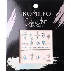 Komilfo Color Art stickers KCA-006