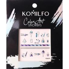 Komilfo Color Art stickers KCA-009