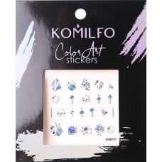 Komilfo Color Art stickers KCA-010