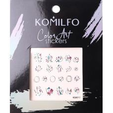 Komilfo Color Art stickers KCA-013