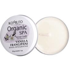 Komilfo Массажная свеча - Vanilla Frangipani, 30гр