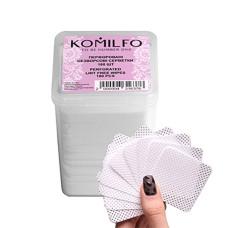 Komilfo перфорированные безворсовые салфетки в боксе 180шт