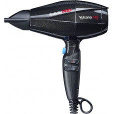 Фен с ионизацией Vulcano-HQ BaByliss Pro черный 2400W