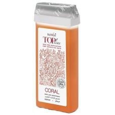 Воск кассетный ItalWax Top Line Коралл 100 мл